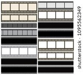 various film strip background... | Shutterstock .eps vector #1095562349