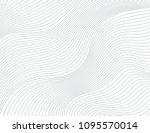 wavy vector background | Shutterstock .eps vector #1095570014