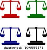 justice four colour flat