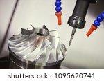 milling metalworking process.... | Shutterstock . vector #1095620741