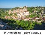 village of rocamadour in lot... | Shutterstock . vector #1095630821