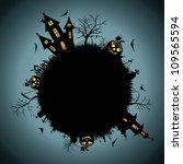 background halloween night | Shutterstock .eps vector #109565594