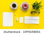 come up with brand identity.... | Shutterstock . vector #1095658001