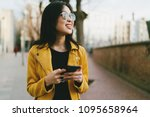 half length portrait of a...   Shutterstock . vector #1095658964