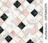 marble luxury geometric... | Shutterstock .eps vector #1095683294