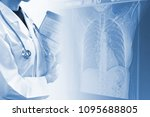 medical concept image x ray   | Shutterstock . vector #1095688805