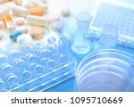 image of research worker at the ... | Shutterstock . vector #1095710669