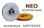 neo. accepted sign emblem....   Shutterstock .eps vector #1095753245