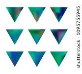 vector gradient reverse... | Shutterstock .eps vector #1095755945