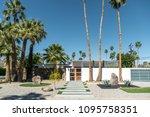 palm springs  california  ...   Shutterstock . vector #1095758351