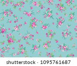 seamless gorgeous pattern in... | Shutterstock .eps vector #1095761687