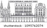 czech republic  karlovy vary... | Shutterstock .eps vector #1095762074