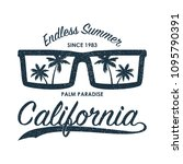 california grunge print for t... | Shutterstock .eps vector #1095790391