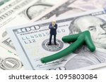 fed consider interest rate hike ... | Shutterstock . vector #1095803084