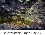 Small photo of ANA TE PAHU Volcanic Cave. Rapa Nui National Park, Easter Island, Chile. UNESCO World Heritage Site