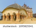 lalji temple of kalna  west...   Shutterstock . vector #1095825341