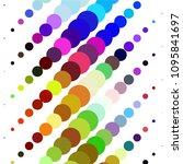 vintage halftone color dots...   Shutterstock .eps vector #1095841697