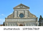 top of the santa maria novella...   Shutterstock . vector #1095867869