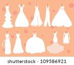 many more dresses   Shutterstock .eps vector #109586921