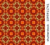 mandala vector element.... | Shutterstock .eps vector #1095911741