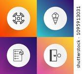 modern  simple vector icon set...   Shutterstock .eps vector #1095913031
