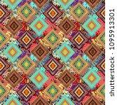 ethnic seamless pattern. tribal ...   Shutterstock .eps vector #1095913301