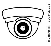 cctv icon vector | Shutterstock .eps vector #1095923291