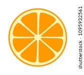 orange  tangerine or mandarin... | Shutterstock .eps vector #1095932561