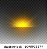 glow isolated white transparent ... | Shutterstock .eps vector #1095938879
