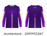 jersey design for extreme...   Shutterstock .eps vector #1095952367