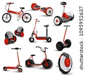 realistic self balancing gyro... | Shutterstock .eps vector #1095952637