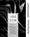 modern marble cover design for... | Shutterstock .eps vector #1095992447