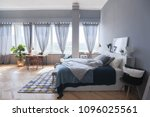 elegant fashionable interior of ... | Shutterstock . vector #1096025561