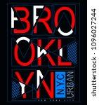 vector design. new york city ... | Shutterstock .eps vector #1096027244