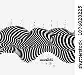 black and white design. pattern ... | Shutterstock .eps vector #1096028225