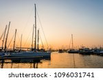 modern sailboats and luxury... | Shutterstock . vector #1096031741