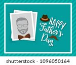 happy father's day greeting... | Shutterstock .eps vector #1096050164