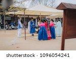 3 april 2018  korean folk... | Shutterstock . vector #1096054241