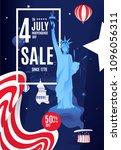 flat banner poster sale 50  up...   Shutterstock .eps vector #1096056311