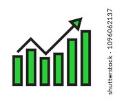 analysis chart data growth... | Shutterstock .eps vector #1096062137