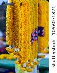bangkok flower market  pak...   Shutterstock . vector #1096071821