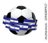 soccer football with el... | Shutterstock . vector #1096089917