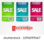 sale banner template design for ... | Shutterstock .eps vector #1096099667