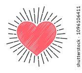 wedding heart love  badge. ...   Shutterstock .eps vector #1096106411