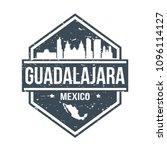 guadalajara mexico travel stamp ...   Shutterstock .eps vector #1096114127