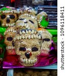 day of the dead souvenirs found ... | Shutterstock . vector #1096118411