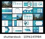 blue bundle presentation... | Shutterstock .eps vector #1096145984