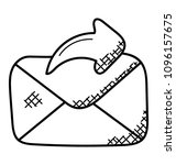 closed envelope letter with...