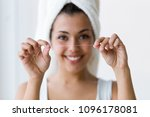 shot of pretty young woman... | Shutterstock . vector #1096178081