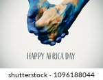 people holding hands patterned... | Shutterstock . vector #1096188044